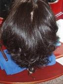 毀容毀髮照:恩恩小姐前日作品(撥開板)後半部