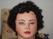 毀容毀髮照:50年代妖嬌的捲捲頭