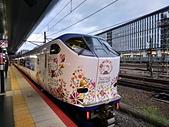 電車照片集:20191004 JR西日本 京都站 特急はるか 281系 Hello kitty塗裝