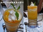 台北羅斯福路~古拉爵義式餐廳0908:蜜桃蘋果漂浮蘇打.JPG