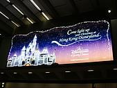 買東西吃東西的香港行:機場的迪士尼廣告