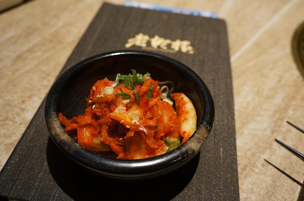 台中.老乾杯:4. 韓式泡菜.JPG