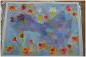 2012彩色墨水自由渲染畫~學生作品分享:邪惡貓咪