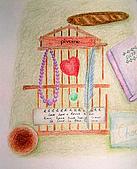 我的色鉛筆畫~中級班:小雜物