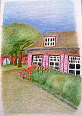 我的色鉛筆畫~中級班:風景畫