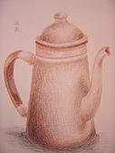 我的色鉛筆畫~初級班:茶壺