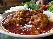 2009前進峇里島第三天:這道湯汁很濃郁,咖哩雞類的,粉好吃