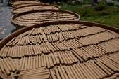 澎湖 二坎聚落:二崁聚落的特產,「二崁傳香」由澎湖三寶,天人菊、山芙蓉、艾草等天然原料,以環保為出發點所做的手工製香,香