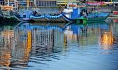 晨光 布袋漁港: