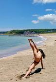 沙灘瑜珈: