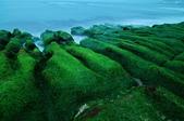 翠綠老梅:伸入海中的老梅石槽,岩脊紋理清楚,造型獨特壯麗,已經是全世界的海岸地景中,相當特殊的地質景觀。到了每年的