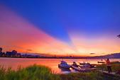 福安碼頭夕陽習拍: