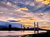 7.12 重陽橋夕彩: