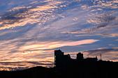 白鹿颱風前的天空: