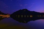 大湖公園 晚霞: