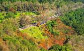 染紅石門水庫: