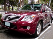 Lexus LX 570 5.7 V8 4WD 車頂置物架版:2011
