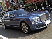 Bentley Mulsanne 6.75 V8: