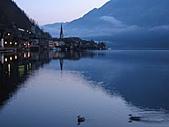 風景:全世界最幸福的湖畔小鎮 人間仙境 哈修塔特6  天將破曉的
