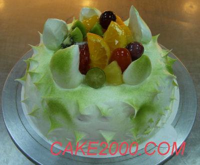 哈尼販售的蛋糕:水果蛋糕