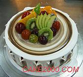 哈尼販售的蛋糕:木紋蛋糕