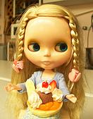 Blythe女兒 小布生活趣事:水果蛋糕
