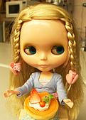 Blythe女兒 小布生活趣事:夏日水果蛋糕