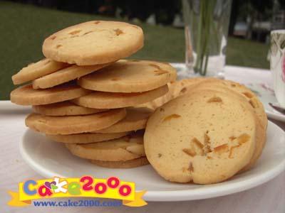 手工餅乾:柚香柑桔餅乾