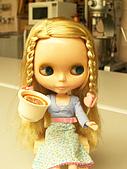Blythe女兒 小布生活趣事:水果茶