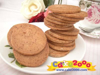 手工餅乾:玫瑰花茶餅乾