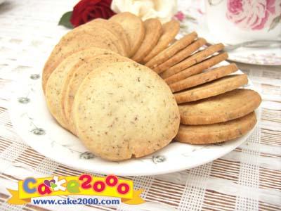 手工餅乾:薰衣草餅乾