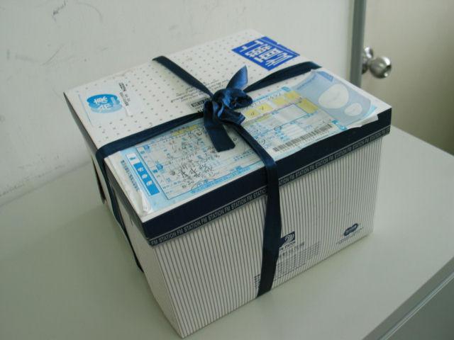 蛋糕宅配記:台北VIVIA收到蛋糕了