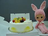 蛋糕宅配記:盒子全開VIVIA女兒流口水