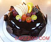 哈尼販售的蛋糕:星空蛋糕