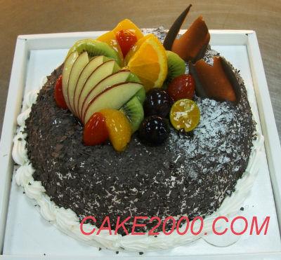 哈尼販售的蛋糕:黑森林蛋糕