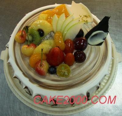 哈尼販售的蛋糕:木紋蛋糕2