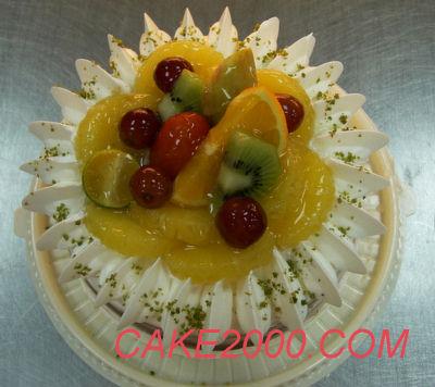 哈尼販售的蛋糕:向日葵蛋糕