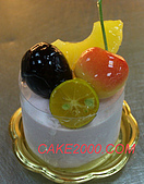 哈尼販售的蛋糕:草莓小慕斯