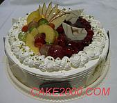 哈尼販售的蛋糕:水果櫻桃蛋糕
