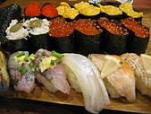日本東北十和田湖 - 大阪 21 Oct - 4 Nov 2006:池袋寿司王国 - 2人壽司放題 共¥3129,HK$ 6.62 : ¥100