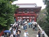 日本東北十和田湖 - 大阪 21 Oct - 4 Nov 2006:鶴岡八幡宮 - 寺內展出國寶名物