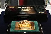 123:TOMICASQUARE展出TOMICA30周年紀念商品,價值百萬日幣的純金小