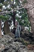 紅葉飄飄15日東京自由行--成田山新勝寺:27●池畔的石碑與雕像.JPG