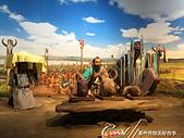 2019夏季內蒙草原風光與貝加爾湖詩意之約(7-2)--扎賚諾爾博物館與傳說中的呼倫湖:10●開始有了文明與聚落後的人類發展,以傳神的雕像來表現,讓人印象深刻.JPG