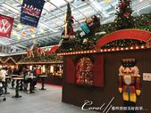 紅葉飄飄15日東京自由行--品味黑毛牛的奢華食光:08●地標蜘蛛後方的耶誕市集,剛開始準備中,氣氛尚未炒熱.JPG