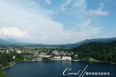 2018不思議之克、斯、義秘境歐遊記(6~4)--閃耀綠寶石光芒的布雷得湖 Lake Bled 與高:45●自布雷得城堡俯瞰著美麗的布雷得湖.JPG