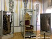 2019Amazing!穿越古絲路上的中亞五國之旅(13-4)--烏茲別克斯坦之布哈拉亞克要塞:19●博物館內展示了布哈拉統治者的寶座與加冕時穿的禮服.jpg