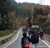 紅葉飄飄15日東京自由行--御岳山:●接著,如同大伙兒郊遊一般步行約5分鐘到達滝本駅,總之跟著背包客就沒錯了.JPG