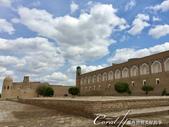2019Amazing!穿越古絲路上的中亞五國之旅(9-1)--烏茲別克斯坦之希瓦Khiva古城印象:20●接著沿著城牆前往當地著名的餐廳.JPG