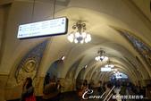 2018印象翻轉的俄羅斯奇幻之旅(3-1)--目眩神迷在宛如藝術殿堂的莫斯科地鐵站:01●第一個參觀的地鐵站,是位在塔甘卡廣場前,於1950年1月1日開通的Тага́нская Taganskaya(塔甘卡站) - 複製.JPG